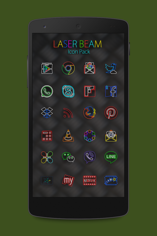 Laser Beam Icon Pack Screenshot 2