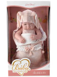 """Пупс серии """"Anna de Wailly"""" original 38 см, в конверте, розовый"""