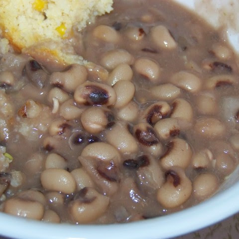 Slow Cooker Southern Black Eyed Peas