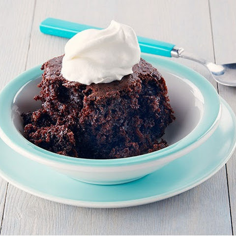Slow-Cooker Double Chocolate Cake