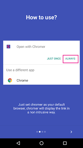 android Chromer Screenshot 1