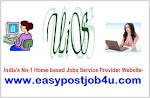 Candidates required for Part Time Home Based Jobs