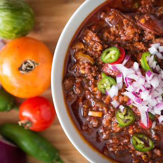 Five Meat Paleo Beanless Chili