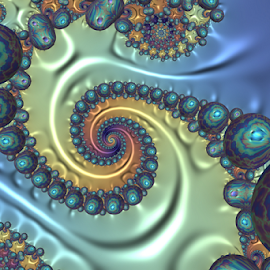 Spiral 24 by Cassy 67 - Illustration Abstract & Patterns ( abstract, swirl, bubbles, sea, ocean, spiral, digital, pearl, abstract art, digital art, fractal art, fractal, fractals )