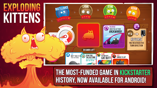 Game Exploding Kittens® - Official APK for Kindle