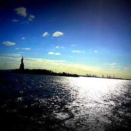 The statue of Liberty by Arpita Biswas - Buildings & Architecture Statues & Monuments