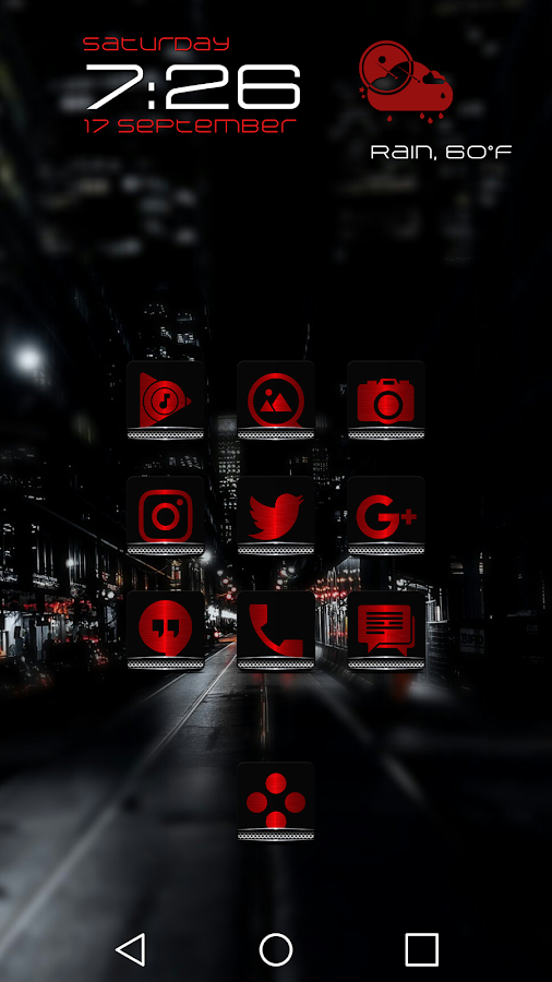 Exec Red Icon Pack Screenshot 6