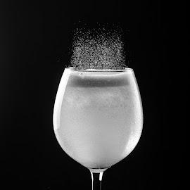 Glass storm by Sima Iulian - Food & Drink Alcohol & Drinks ( water, studio, vinegar, glass, sodium, storm )