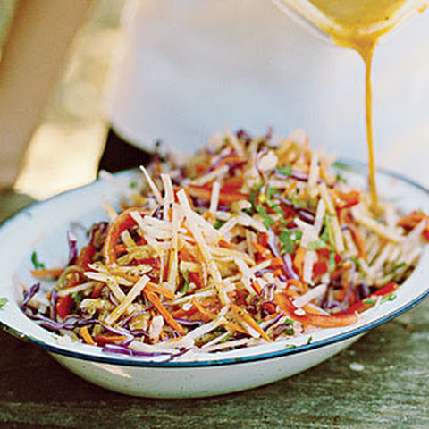 Jicama Slaw Rice Wine Vinegar Recipes