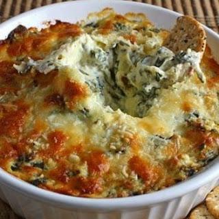 Spinach Artichoke Dip With Heavy Cream Recipes