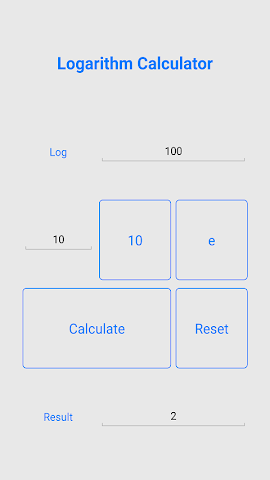 android Quick Logarithm Calculator Screenshot 3