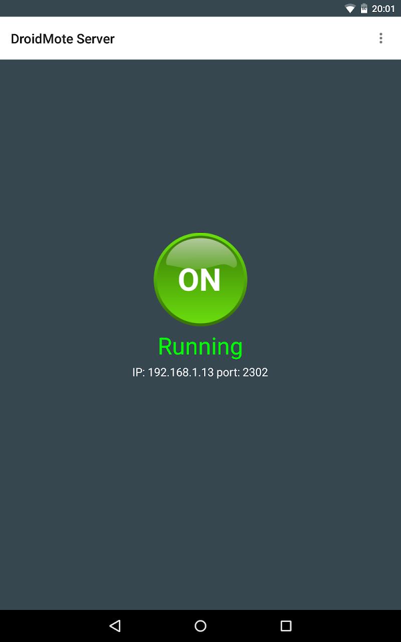DroidMote Server (root) Screenshot 7