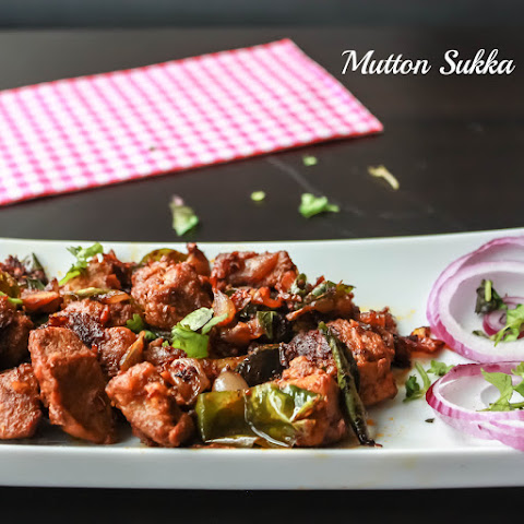 Mutton Sukka / Dry Goat Curry