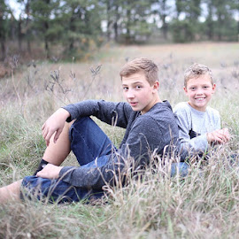 Brothers by Cameron  Cleland - Babies & Children Child Portraits ( outdoor, boys, portraits )