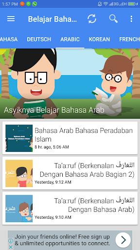 Aplikasi Belajar Bahasa screenshot 3