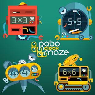 RoboClock Maze