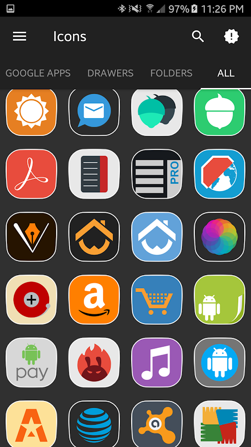 phlat - icon pack Screenshot 1