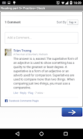 Screenshot of Learn TOEIC Part 5
