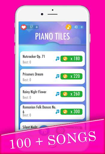 Pink Piano Tiles For PC