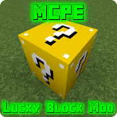Lucky Block Mod for MCPE for Lollipop - Android 5.0