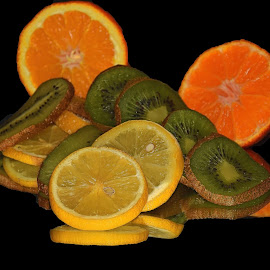 citrus on the mirror by LADOCKi Elvira - Food & Drink Fruits & Vegetables