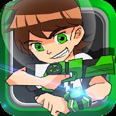 Game Ultimate Ben Alien 10 Shooter apk for kindle fire