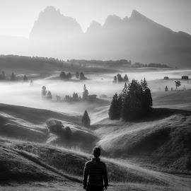 by Richard  Harris - Black & White Landscapes
