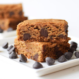 Wholesome Chocolate Chip Cookie Bars (Gluten-Free, Vegan)