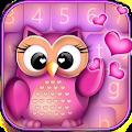 Cute Owl Keyboard Changer