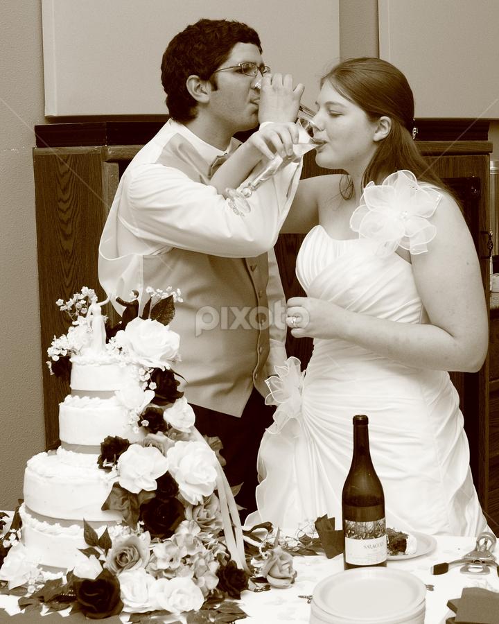 Toast  by Brian Robinson - Wedding Reception