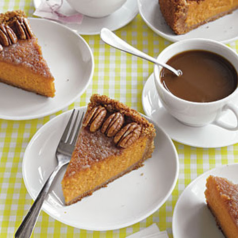 Vanilla-Bourbon Sweet Potato Pie from Dish