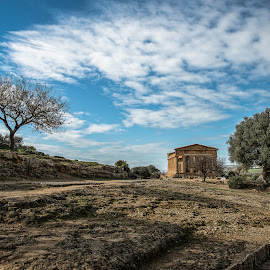 Valle dei Templi - Agrigento by Antonello Madau - City,  Street & Park  Historic Districts