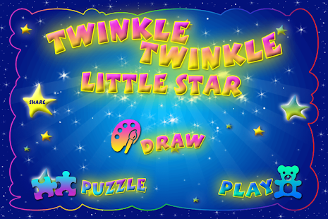 Twinkle Twinkle Little Star - screenshot