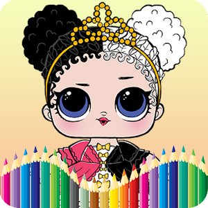 Lol Doll Surprise Coloring Book For PC / Windows 7/8/10 / Mac – Free Download