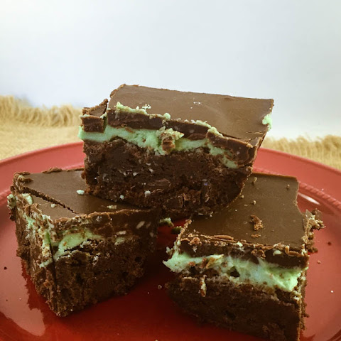 Frosted Mint Brownies