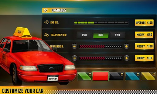 HQ Taxi Driving 3D