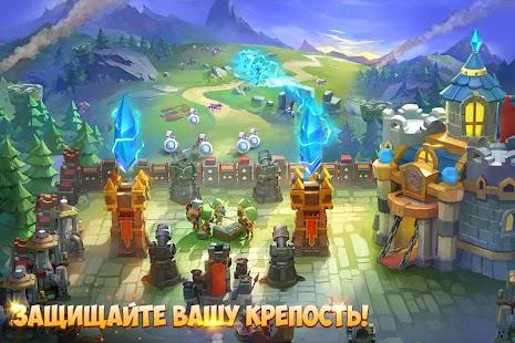 Castle Clash: Юбилейная девишник – Miniaturansicht des Screenshots