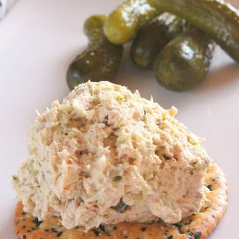 Canned Salmon Salad With Dill Pickles