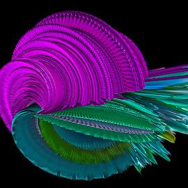 by Alenka Predic - Digital Art Abstract