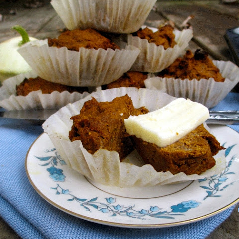 Egg Free Chia Pumpkin Molasses Muffins