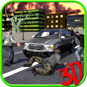 Car Driving Zombie Shooter 3d