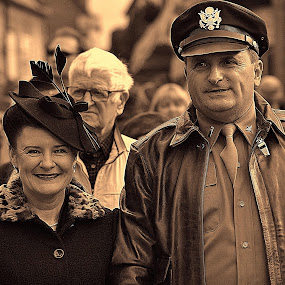 The  captains  wife by Gordon Simpson - People Couples