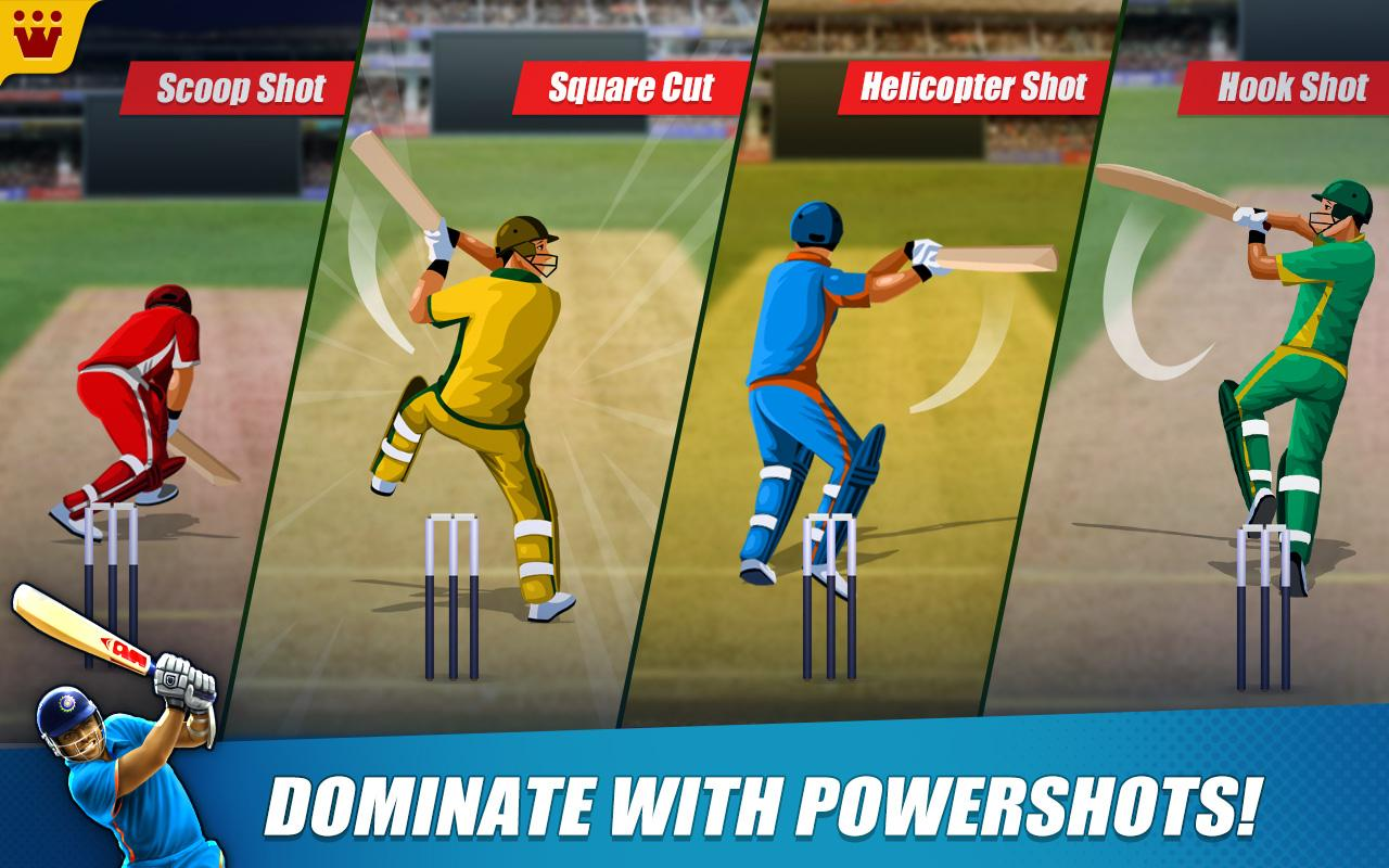 Power Cricket T20 Cup 2016 Screenshot 2
