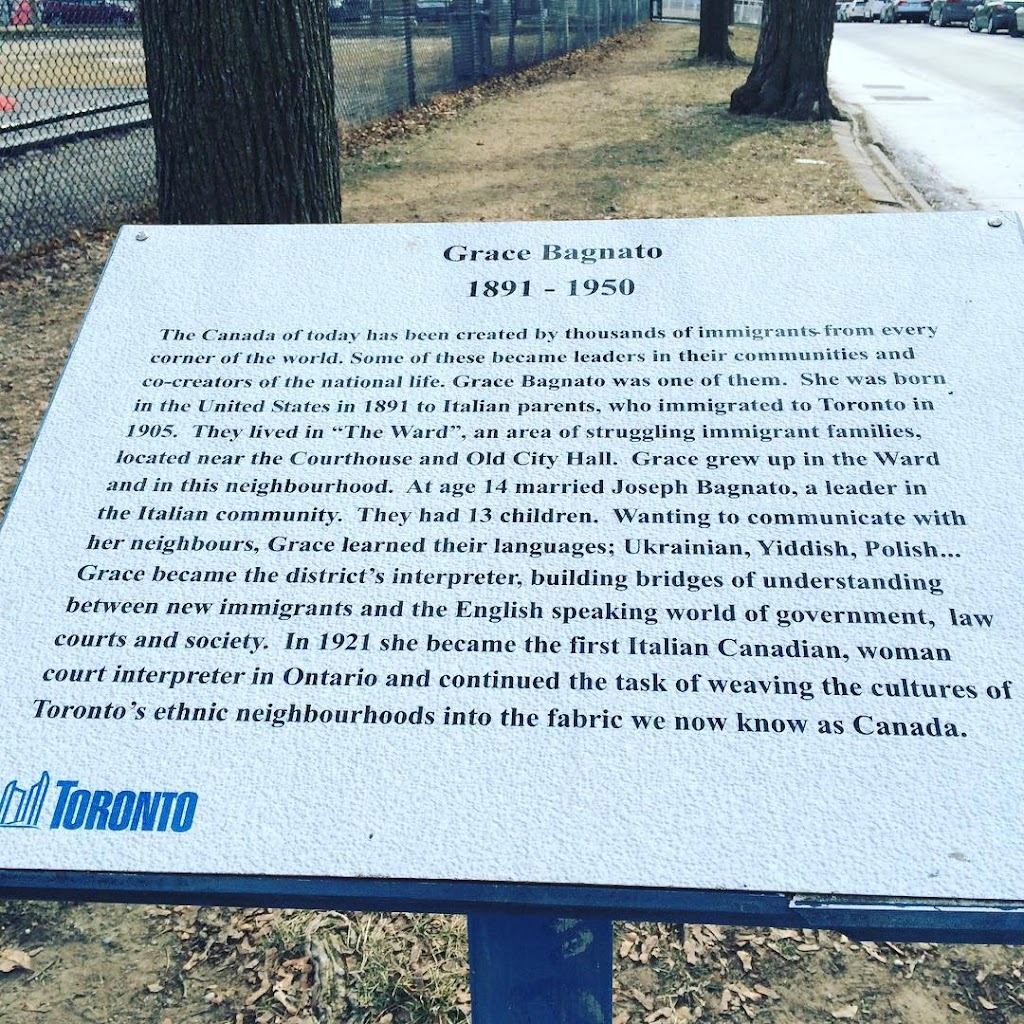 Grace Bagnato 1891 - 1950 The Canada of today has been created by thousands of immigrants from every corner of the world. Some of these became leaders in their communities and co-creators of the ...