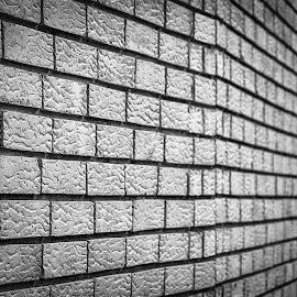 The Wall by Nenad Borojevic Foto - Abstract Patterns ( bricks, walls, rectangles, brick wall, wall art, rectangle, brick, lines, wall )