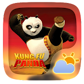 Kung Fu Panda Weather Widget