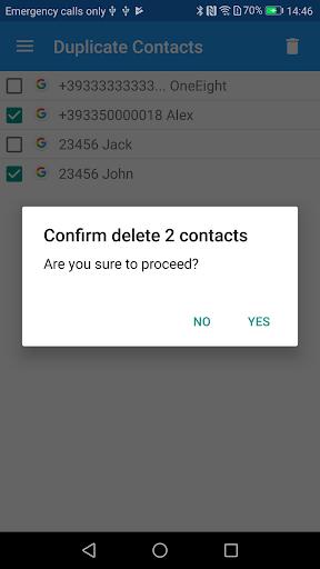 Duplicate Contacts screenshot 7