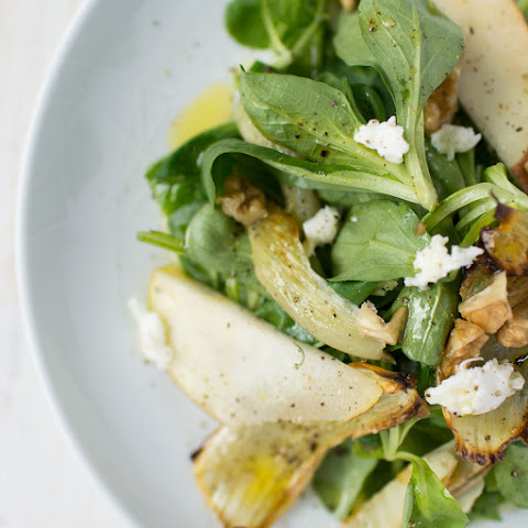 Roasted Fennel and Pear Salad