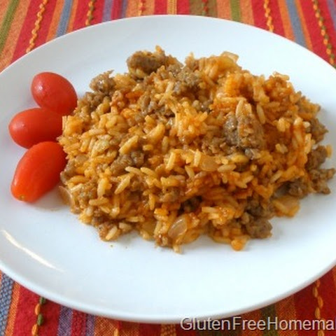 Spanish Rice with Sausage