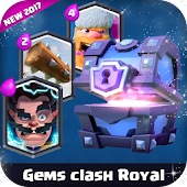 deck builder clash royal gems Icon
